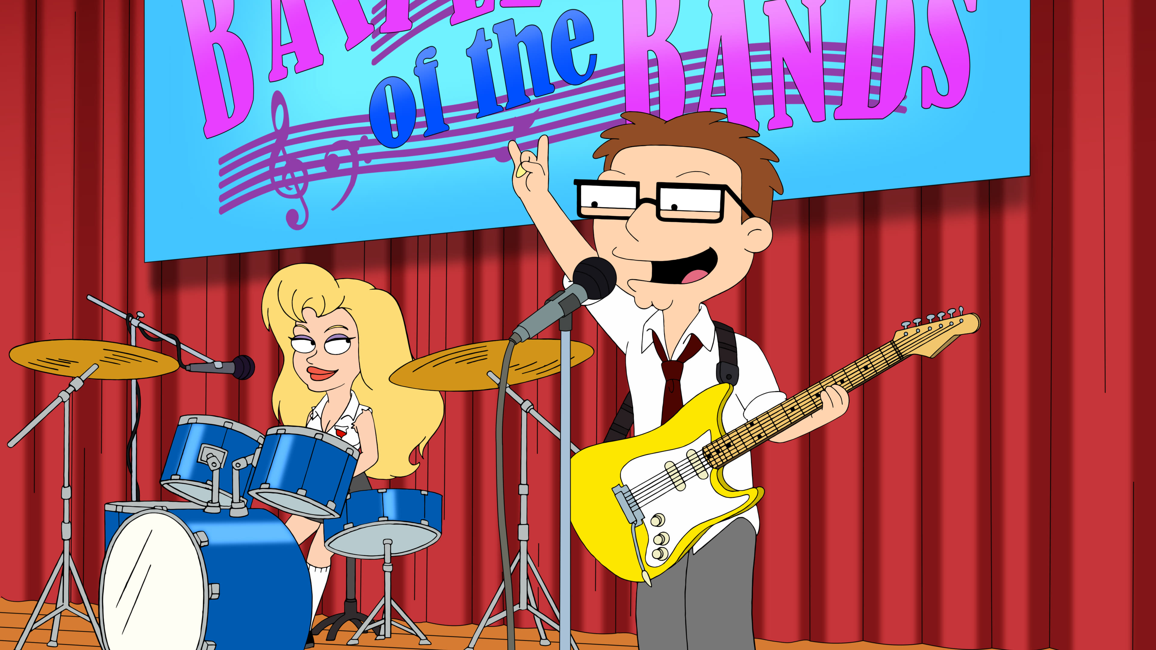 American Dad! Season 15 :Episode 18  Top of the Steve