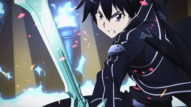 Sword Art Online Season 1 :Episode 9  The Blue-Eyed Demon