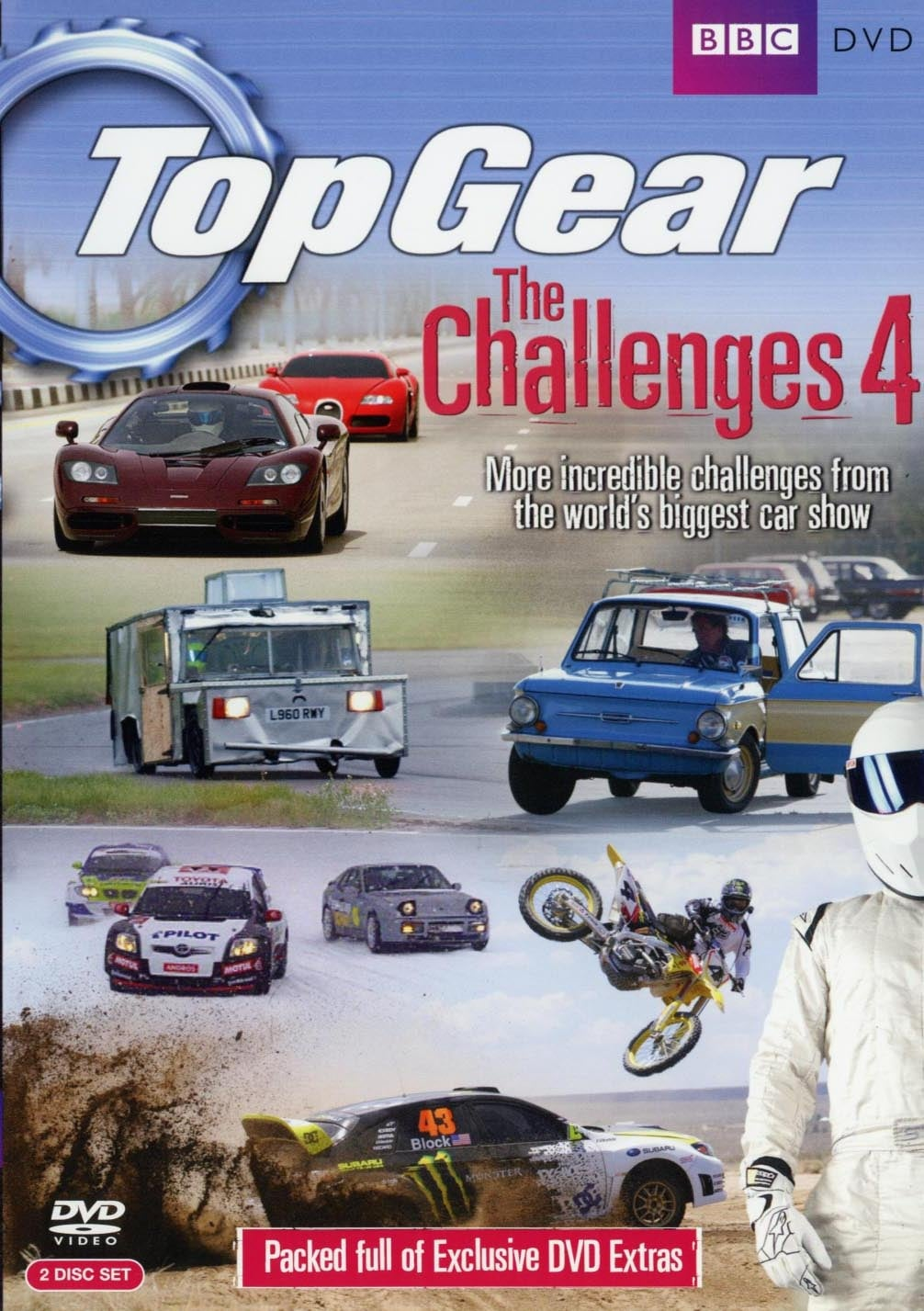 Top Gear: The Challenges 4