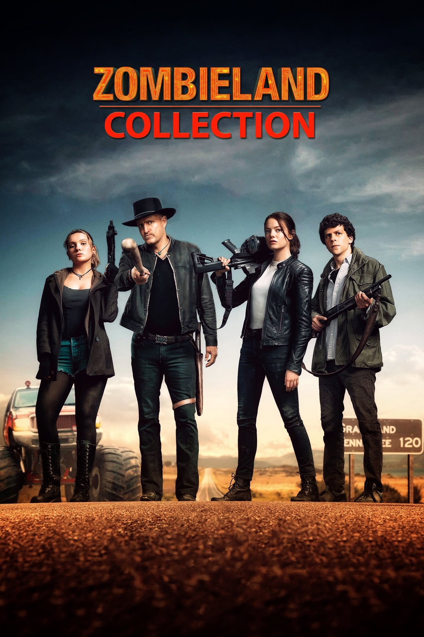 Zombieland Collection 2009-2019 BluRay 1080p 720p 480p Dual Audio [Hindi DD 5.1 + English DTS 5.1] | G-Drive