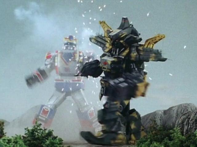 Super Sentai Season 14 :Episode 44  Deadly Robot Battle
