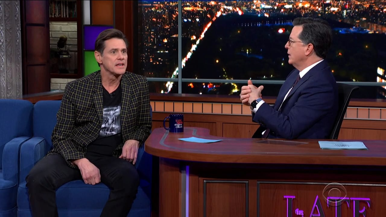 The Late Show with Stephen Colbert Season 5 :Episode 84  Jim Carrey