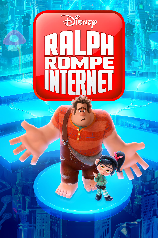 Póster Ralph rompe Internet