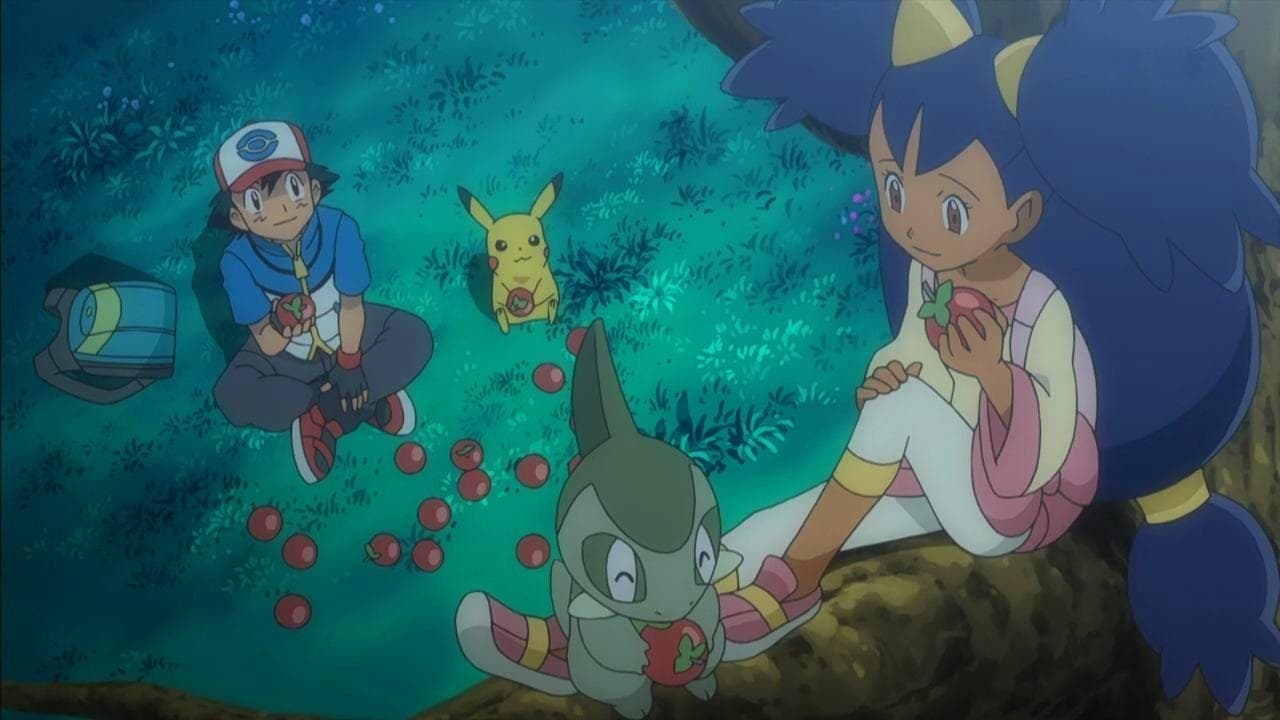 Pokémon Season 14 :Episode 2  Enter Iris and Axew!