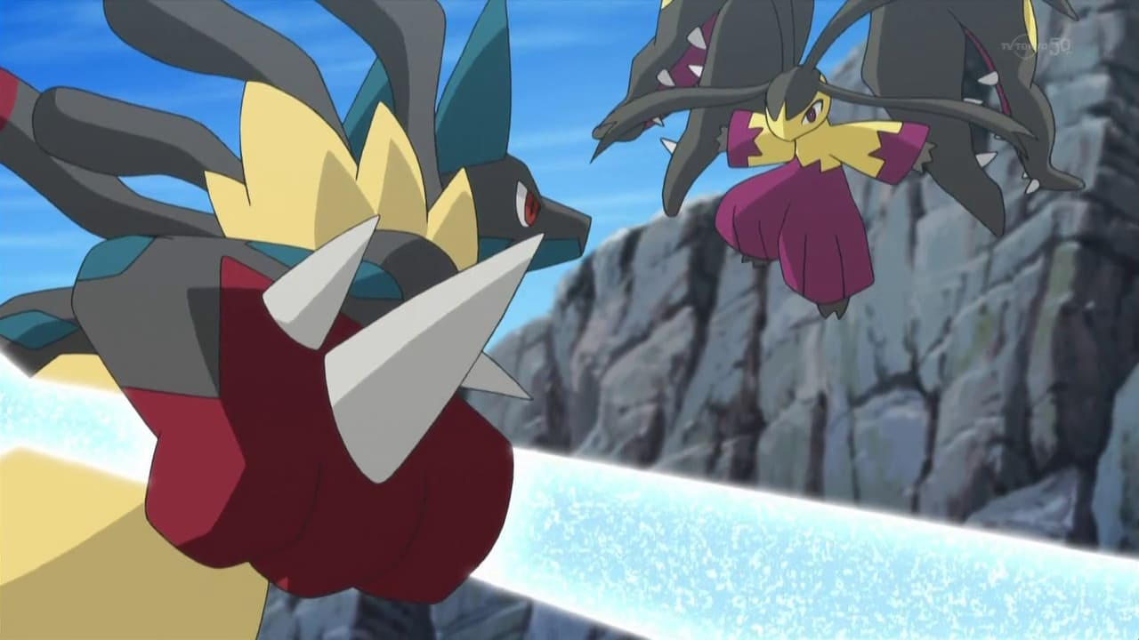Pokémon Season 17 :Episode 33  The Bonds of Mega Evolution!