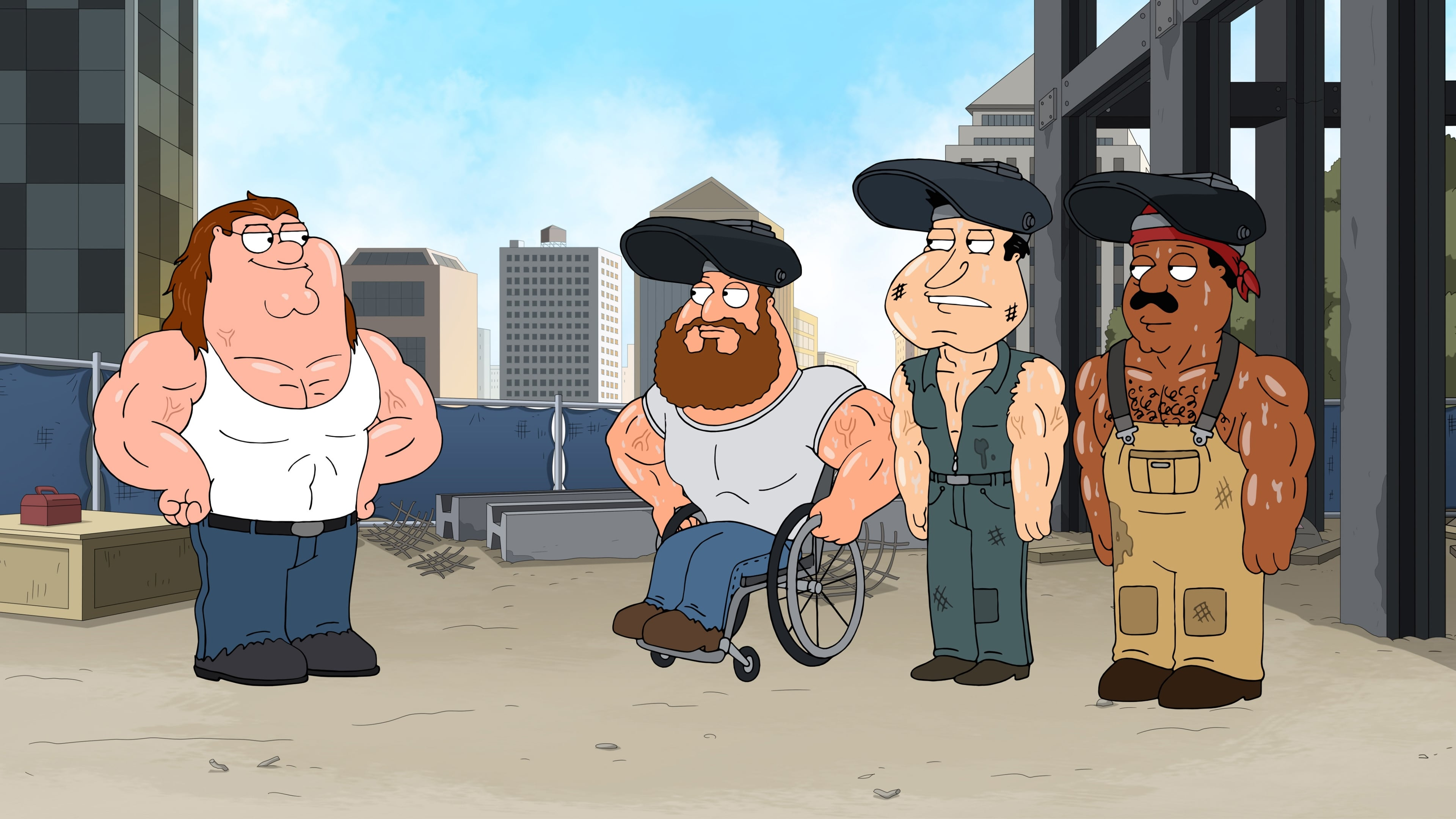 Family Guy Season 16 :Episode 5  Three Directors