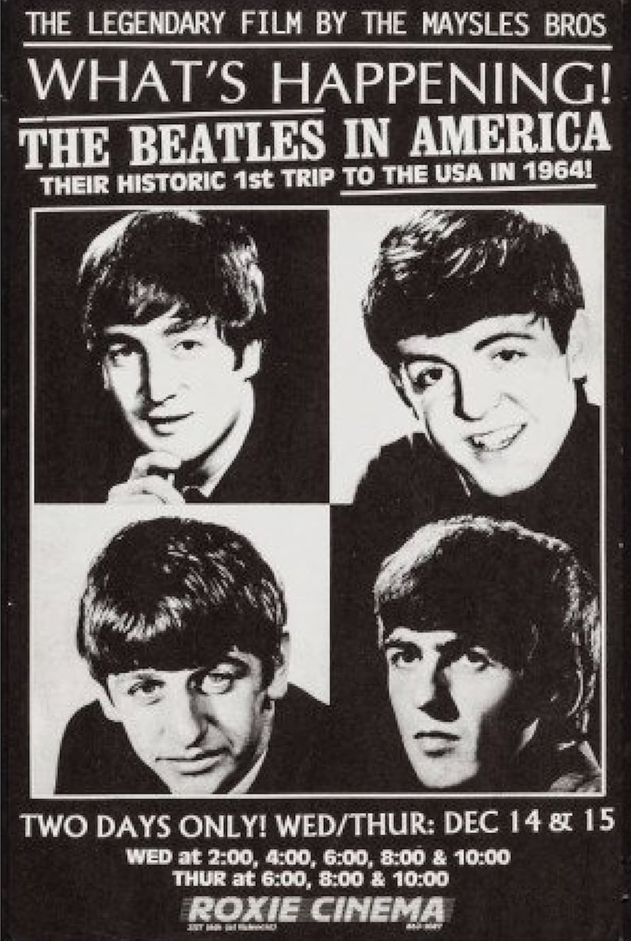 What's Happening! The Beatles in the U.S.A. (1964)
