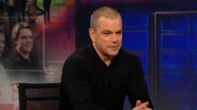 The Daily Show with Trevor Noah Season 17 :Episode 36  Matt Damon