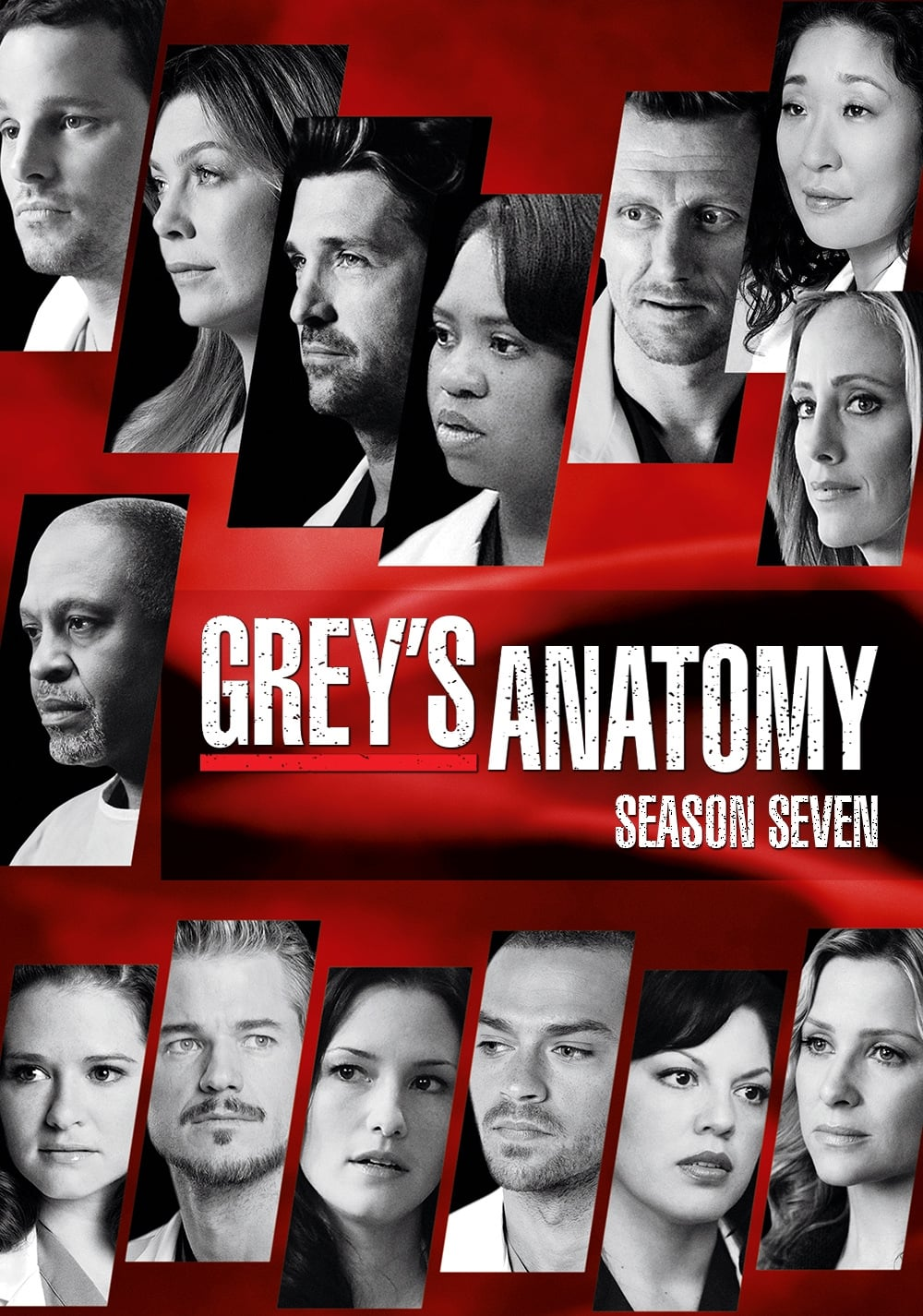 Greys Anatomy - Season 7 (2010) TV Series poster on cokeandpopcorn