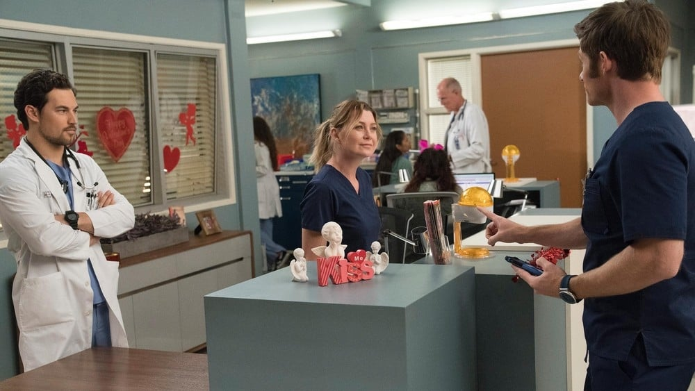 Grey's Anatomy Season 15 :Episode 12  Girlfriend in a Coma