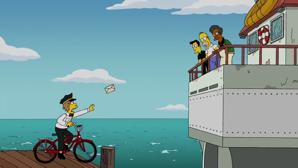 The Simpsons Season 21 :Episode 21  Moe Letter Blues