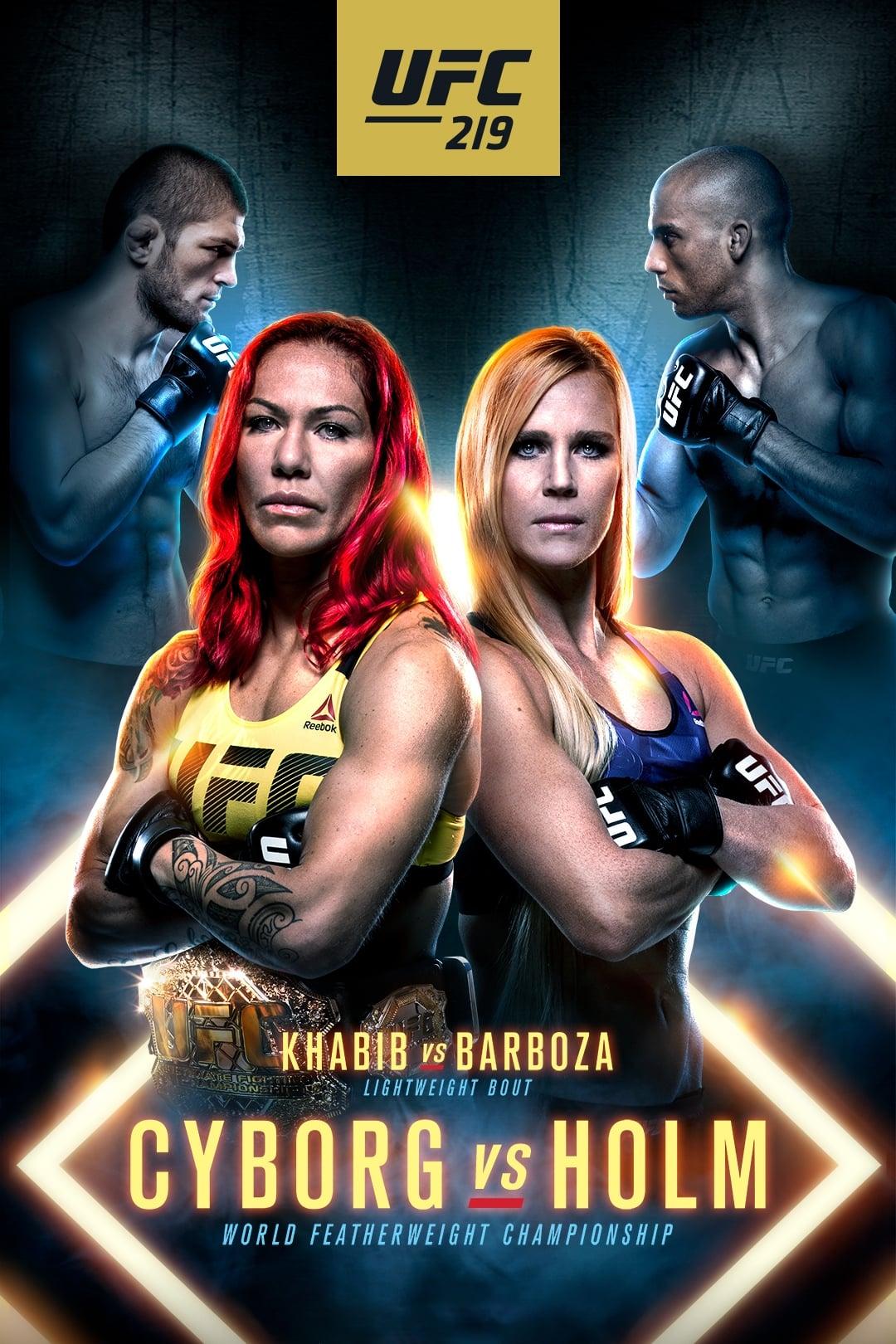 Ver UFC 219: Cyborg vs. Holm Online HD Español ()