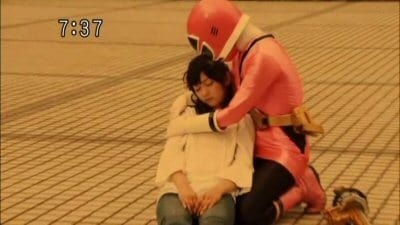 Super Sentai Season 33 :Episode 20  Act 20: The Lobster Origami's Transformation