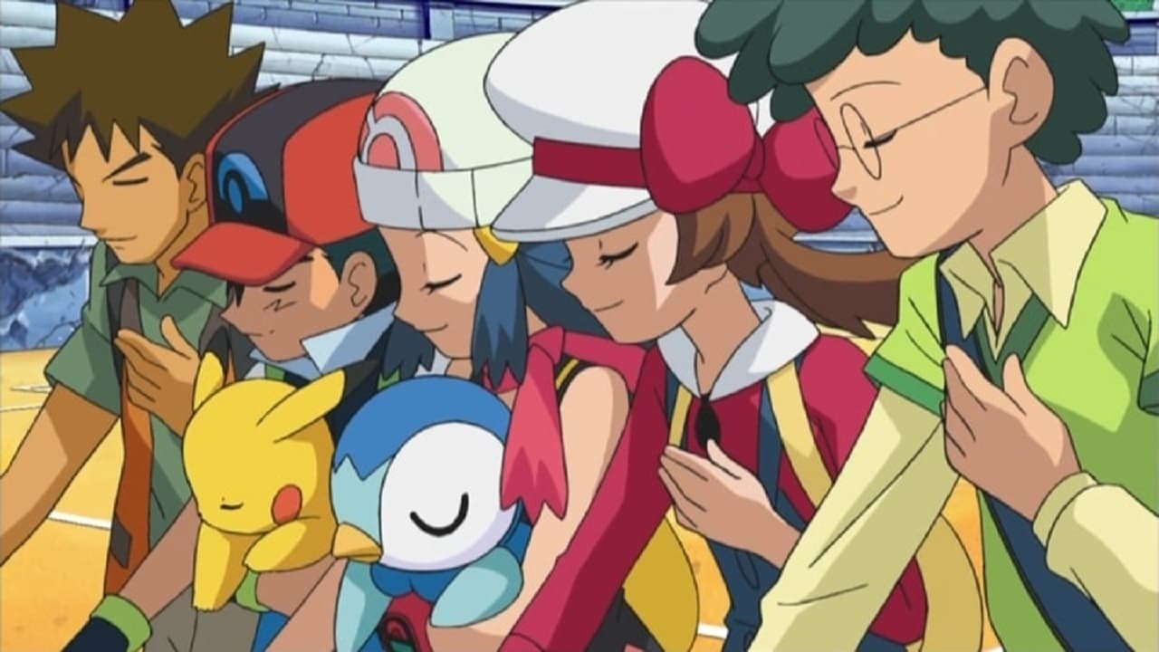 Pokémon Season 12 :Episode 43  Bagged Then Tagged!