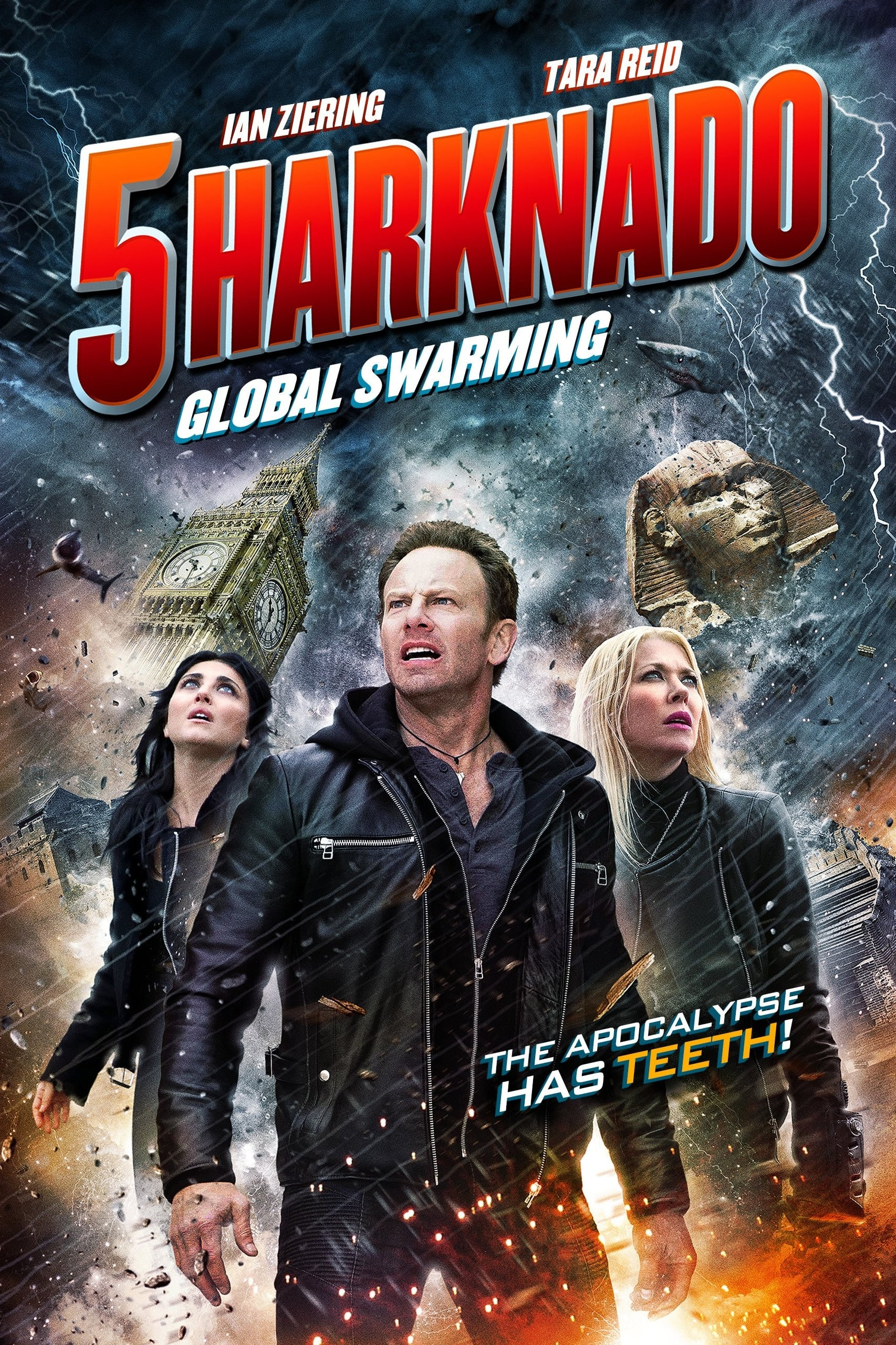 Póster Sharknado 5: Aletamiento global
