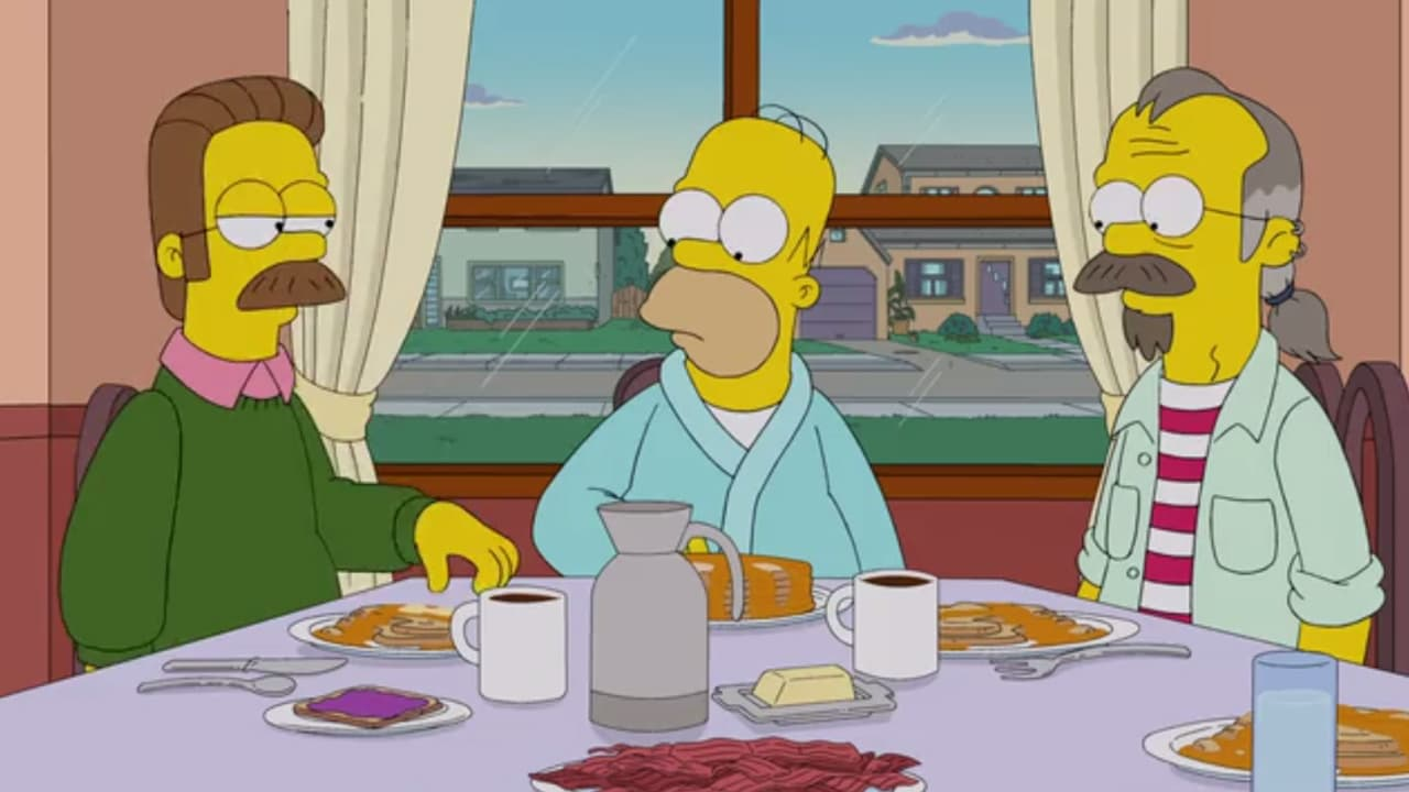 Die Simpsons Season 24 :Episode 15  Blauauge sei wachsam