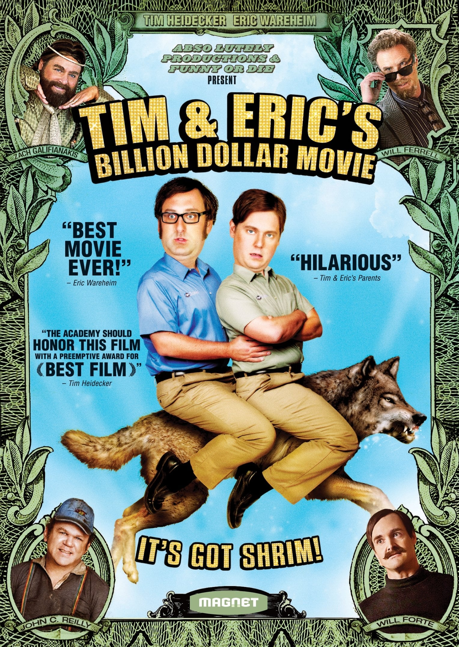 Tim and Eric's Billion Dollar Movie on FREECABLE TV