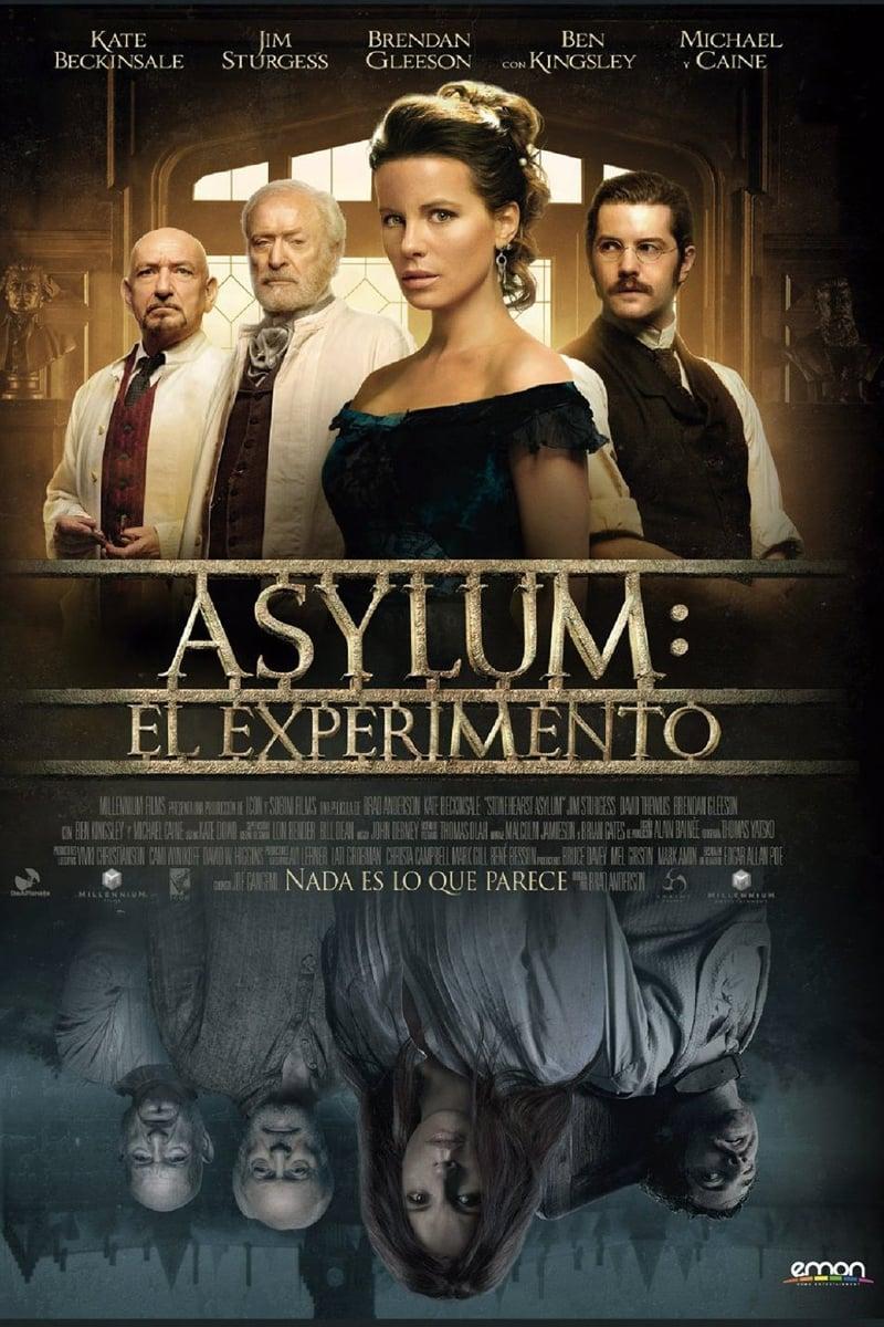 Póster Asylum: El Experimento