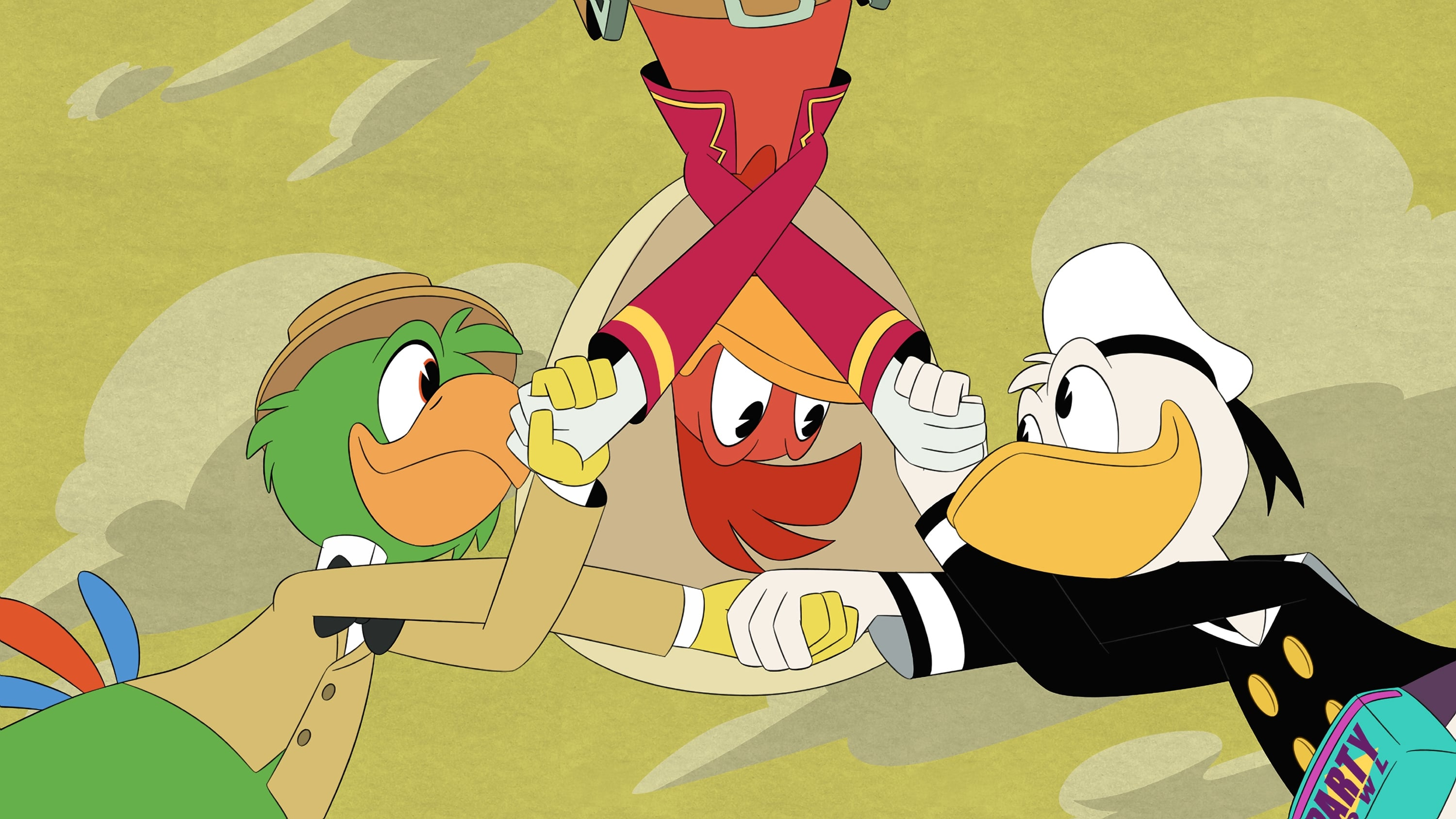 DuckTales Season 2 :Episode 4  The Town Where Everyone Was Nice!