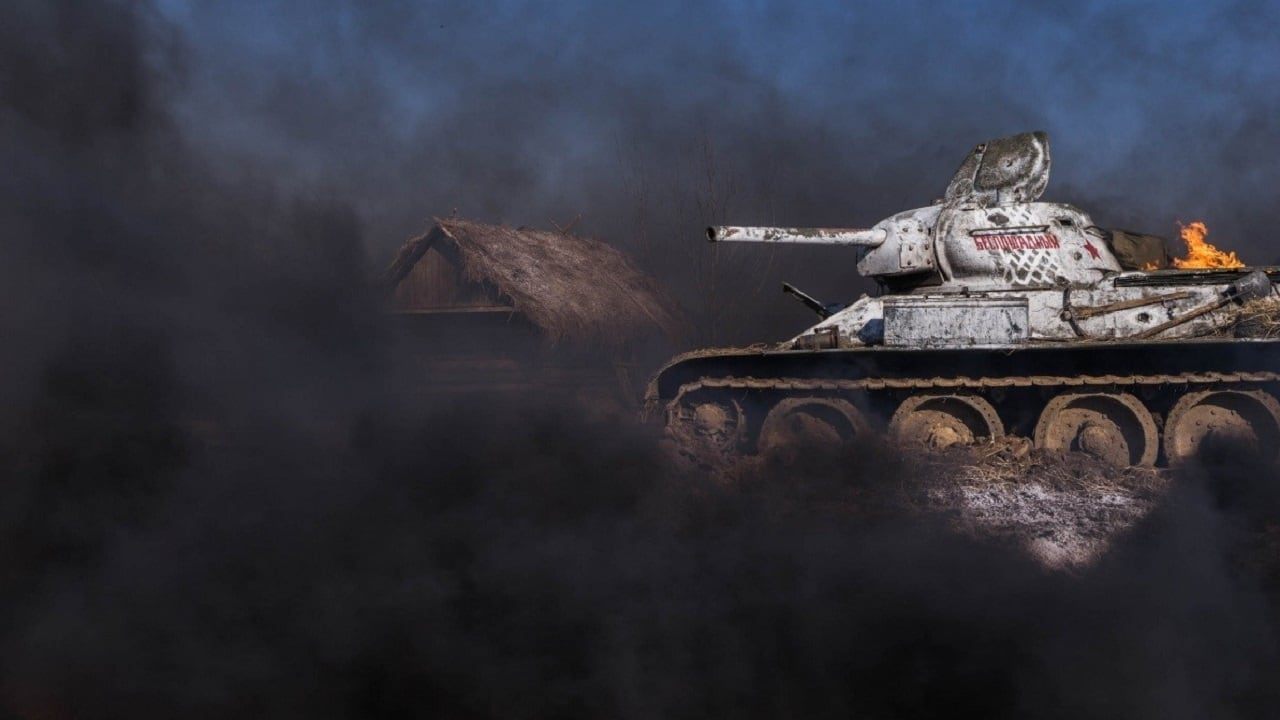 Backgrounds and walpapers T-34