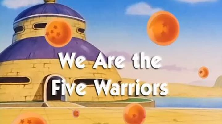 Dragon Ball Season 1 :Episode 70  We are the Five Warriors