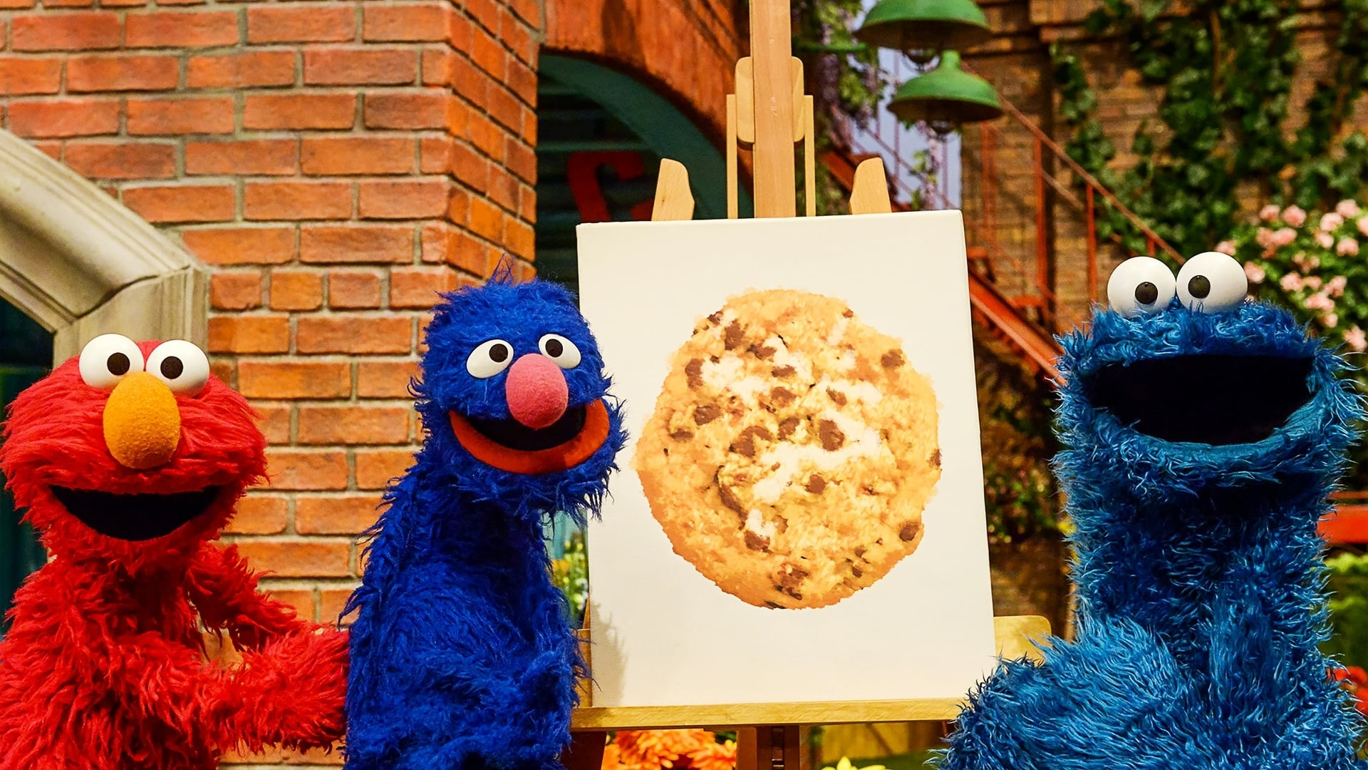 Sesame Street Season 47 :Episode 14  Painting with Cookie Monster