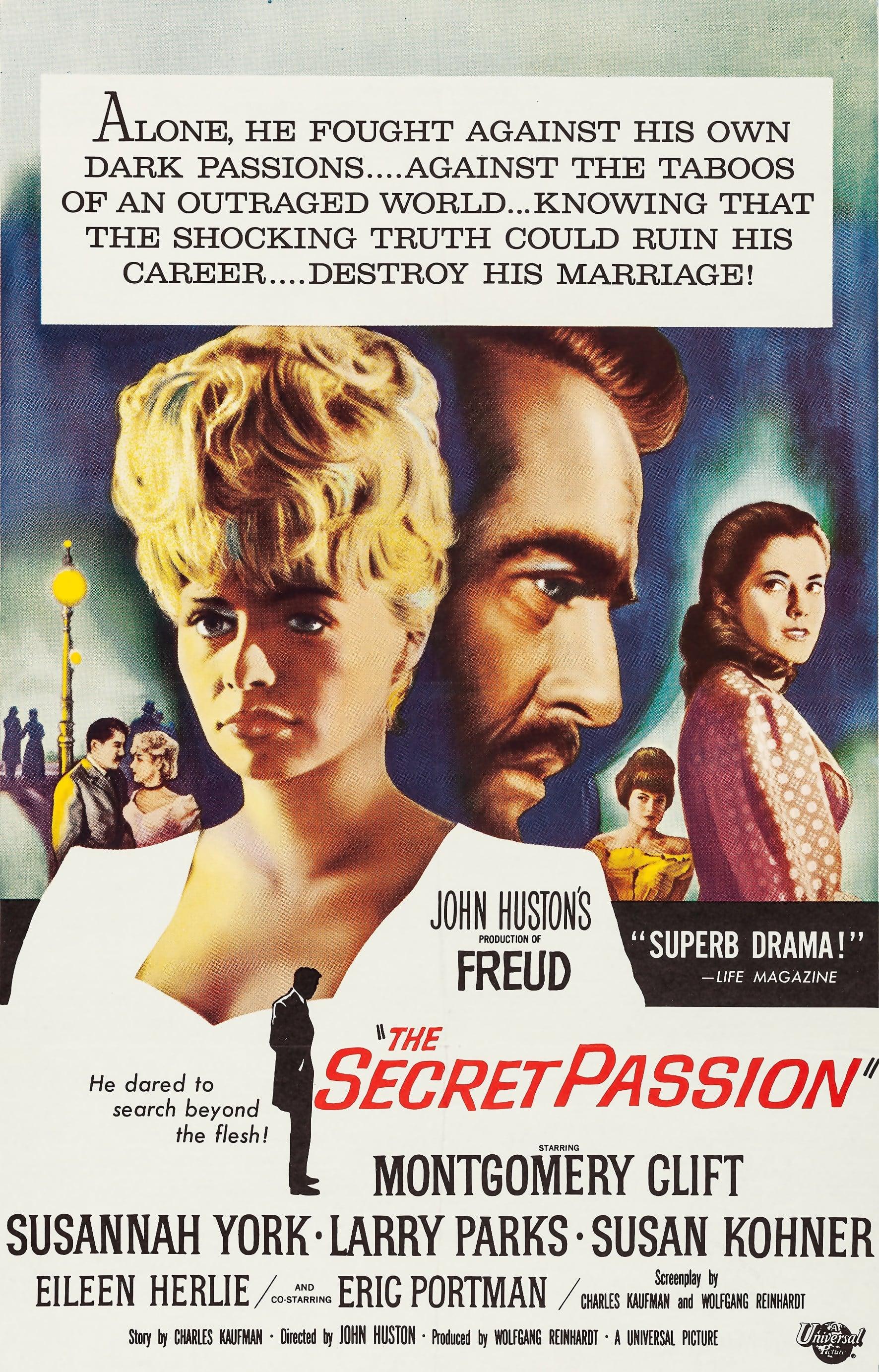 Freud: The Secret Passion poster