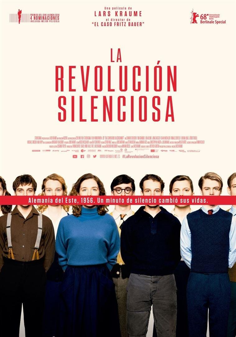 Póster La revoluci�n silenciosa