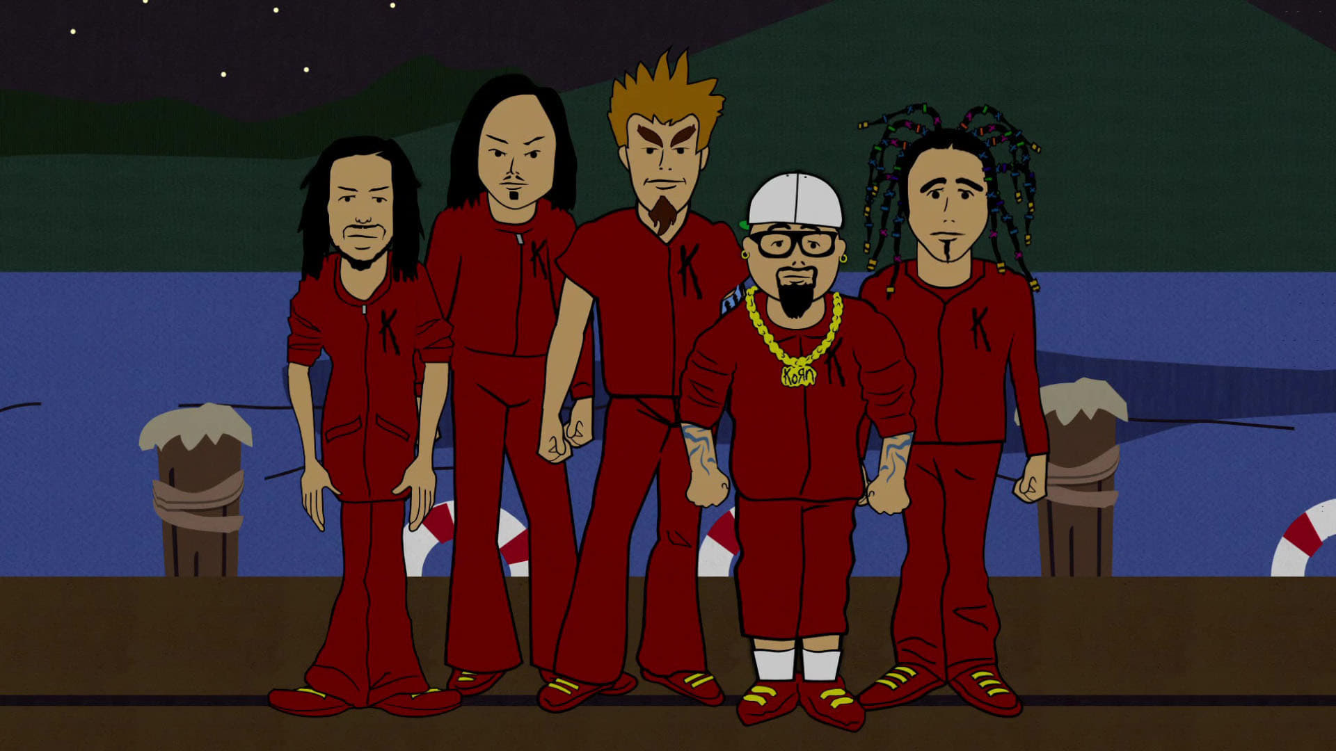 South Park Season 3 :Episode 10  Korn's Groovy Pirate Ghost Mystery