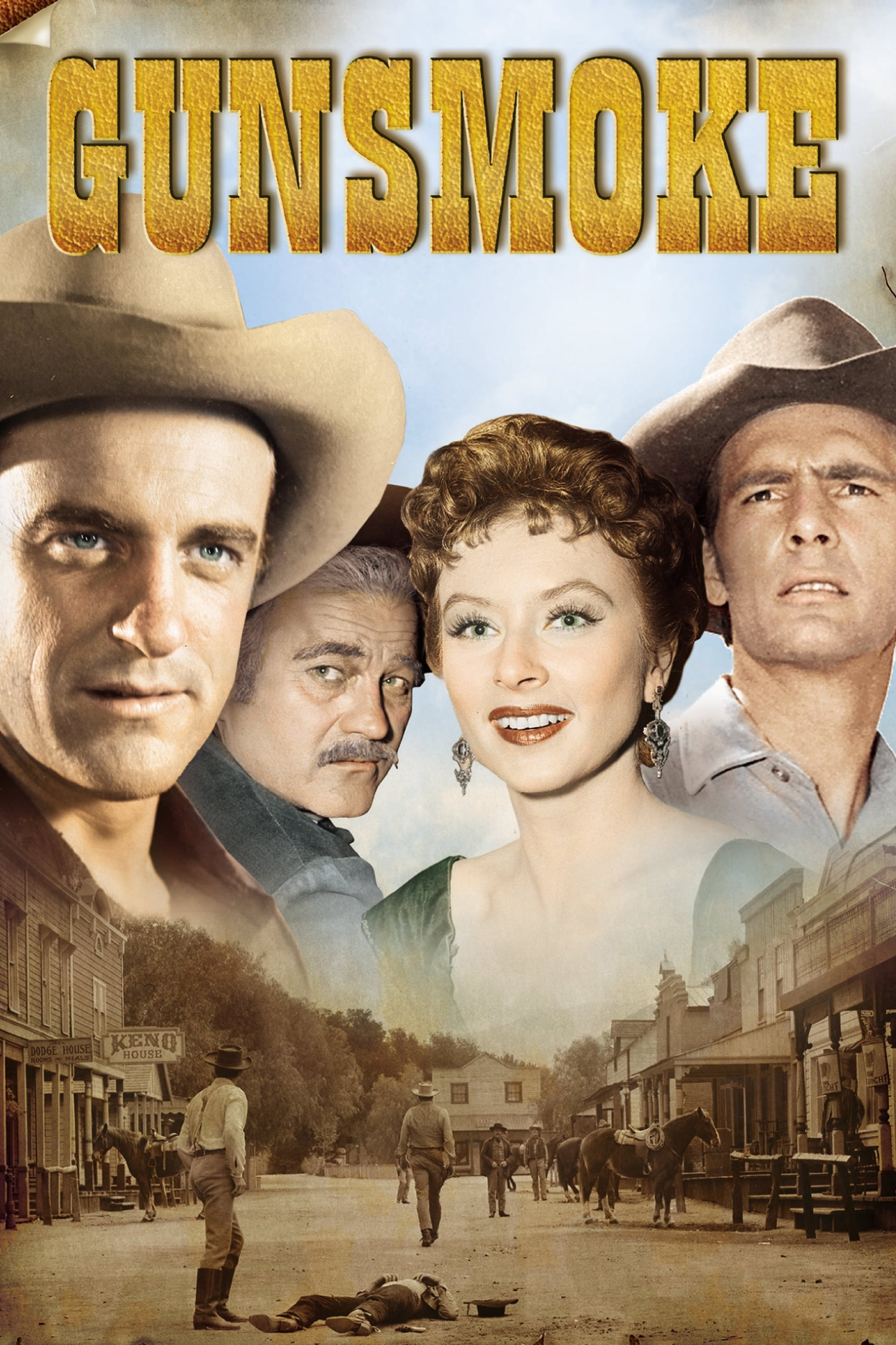 Gunsmoke series tv complet