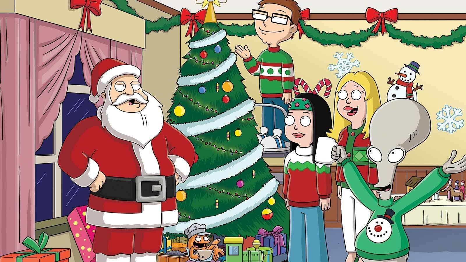 American Dad! Season 17 :Episode 24  Yule. Tide. Repeat