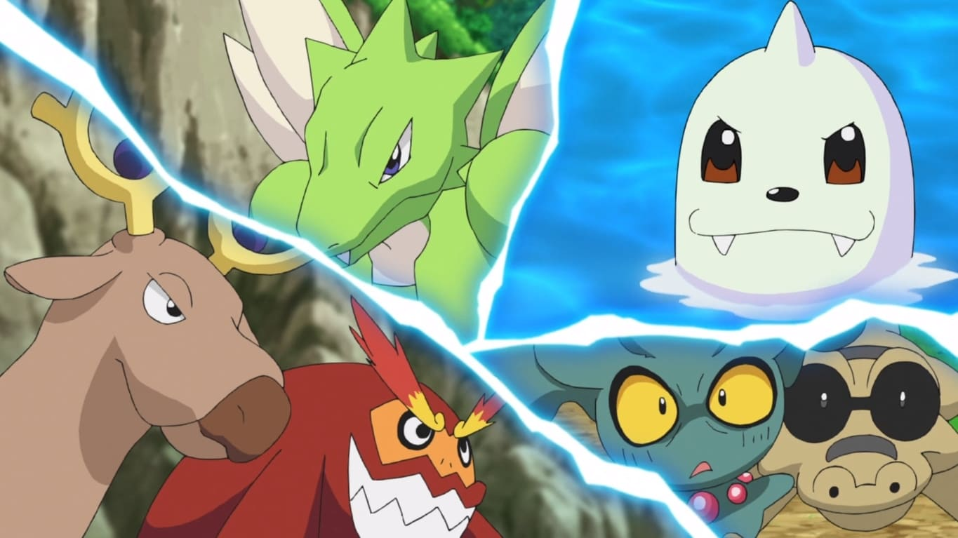 Pokémon Season 23 :Episode 23  Panic in the Park!