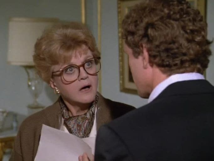 Murder, She Wrote Season 4 :Episode 3  Witness for the Defense