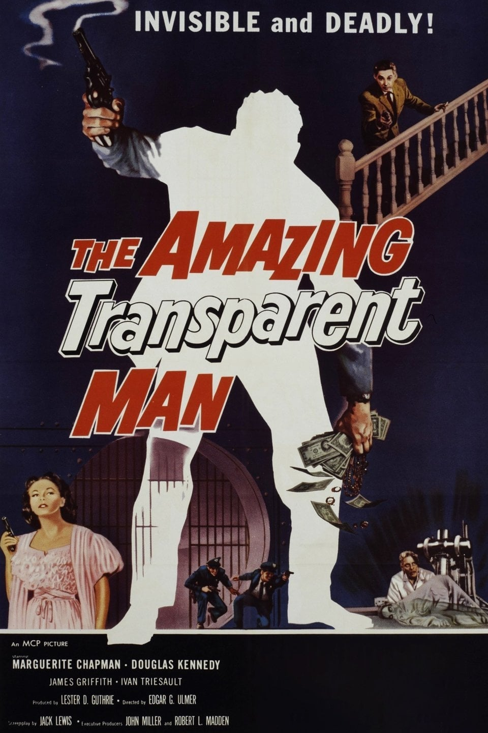 The Amazing Transparent Man on FREECABLE TV