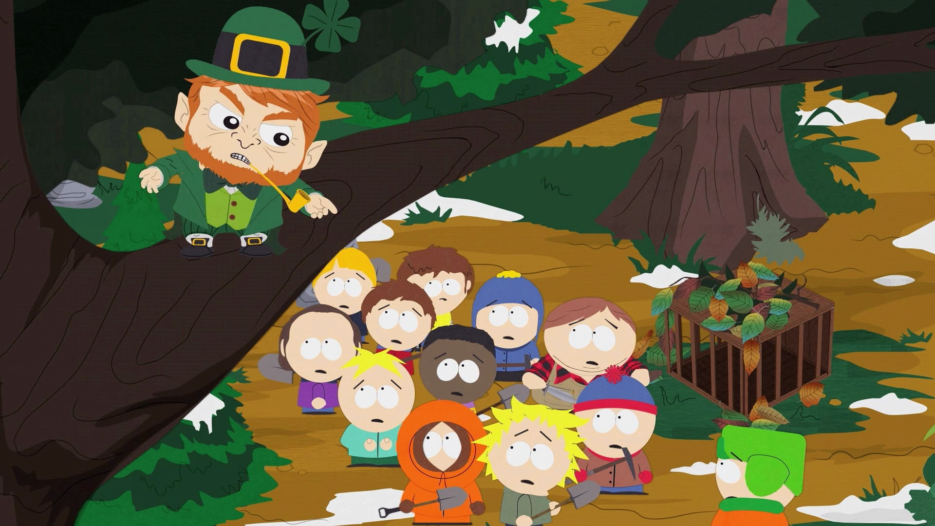 South Park Season 11 :Episode 10  Imaginationland (1)