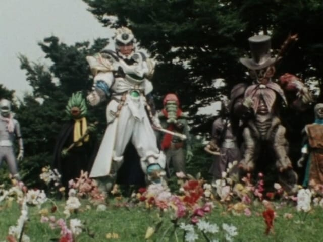 Super Sentai Season 14 :Episode 28  Hell's Chorus