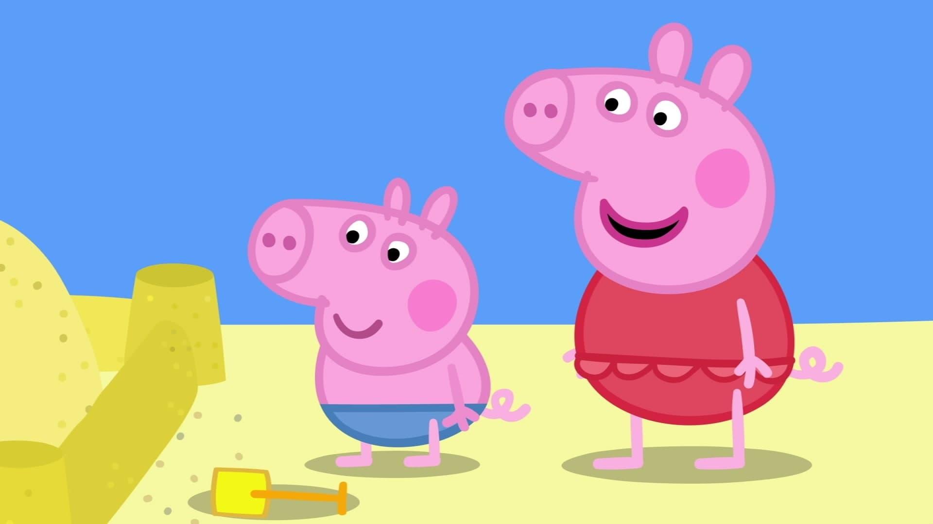 Peppa Pig Season 6 :Episode 52  The Sand Castle