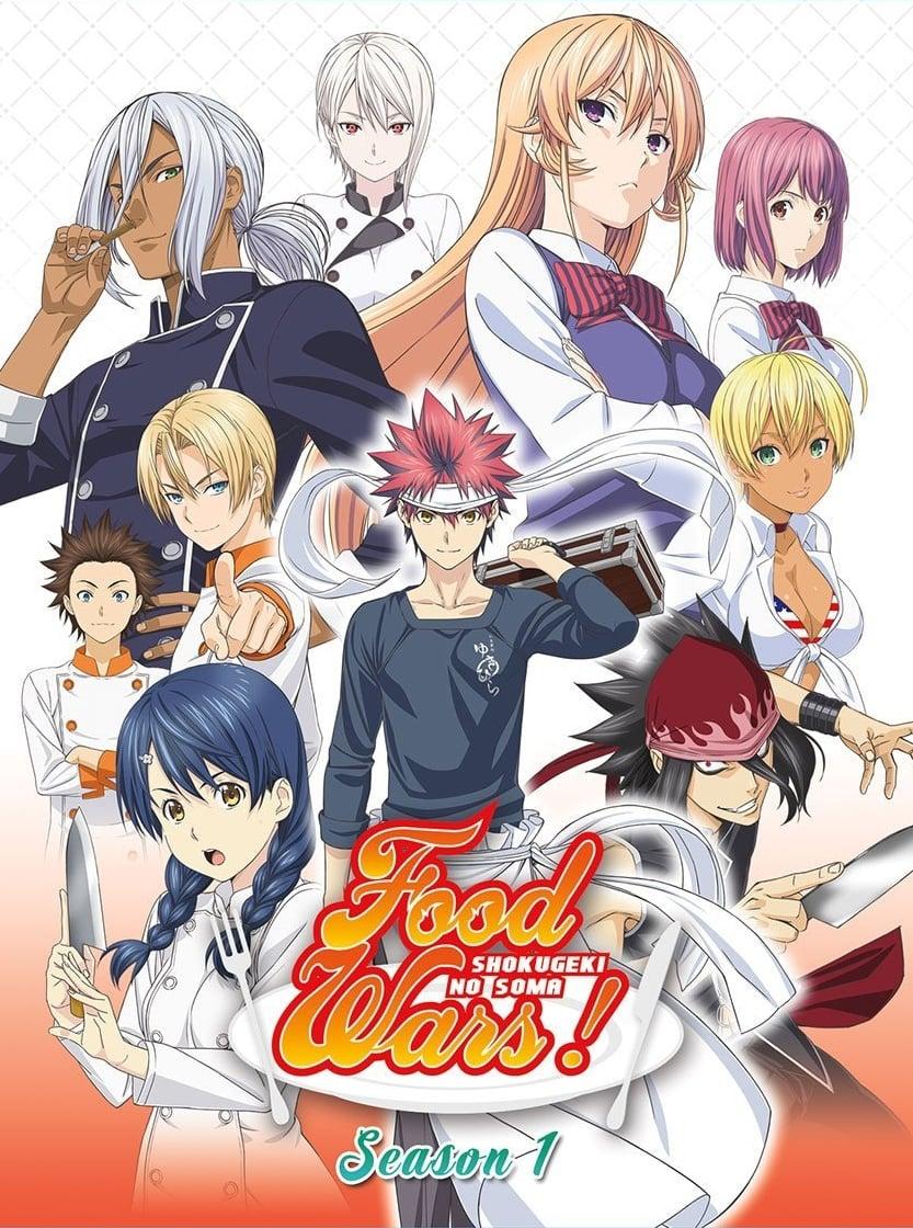 Shokugeki no Souma - Vua đầu bếp Soma (Phần 1) (2015)