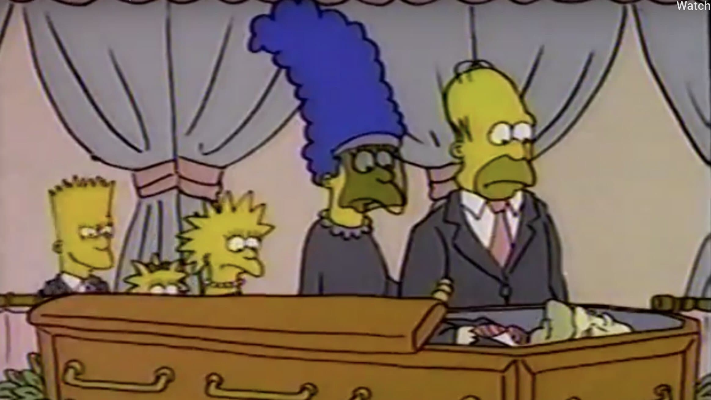 The Simpsons Season 0 :Episode 9  The Funeral