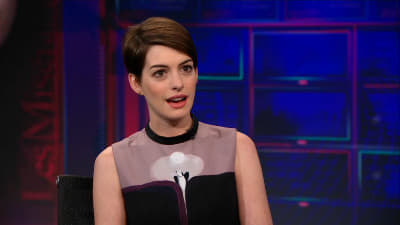The Daily Show with Trevor Noah Season 18 :Episode 39  Anne Hathaway