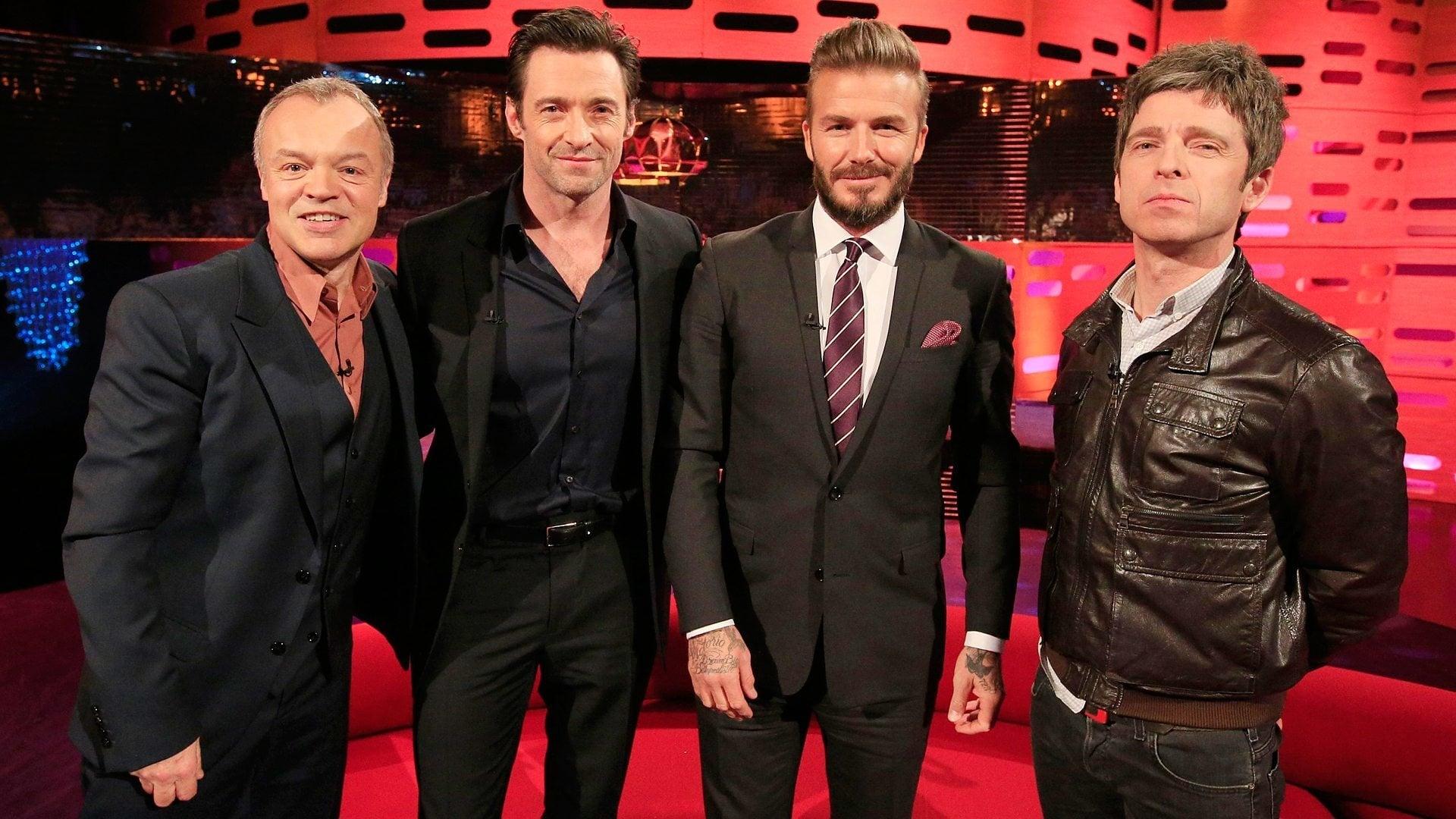 The Graham Norton Show Season 16 :Episode 20  David Beckham, Will Smith, Margot Robbie, Hugh Jackman, Noel Gallagher