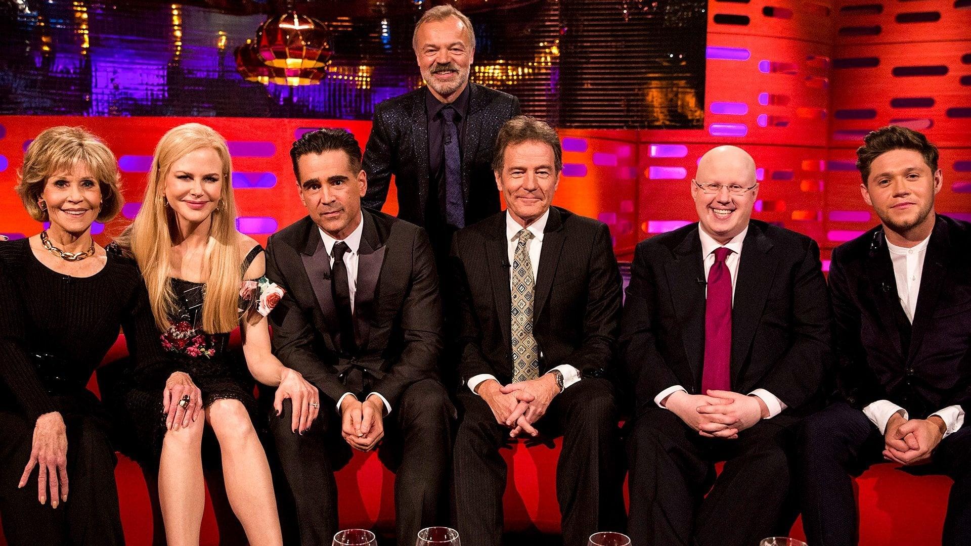 The Graham Norton Show Season 22 :Episode 3  Jane Fonda, Nicole Kidman, Colin Farrell, Bryan Cranston, Matt Lucas, Niall Horan