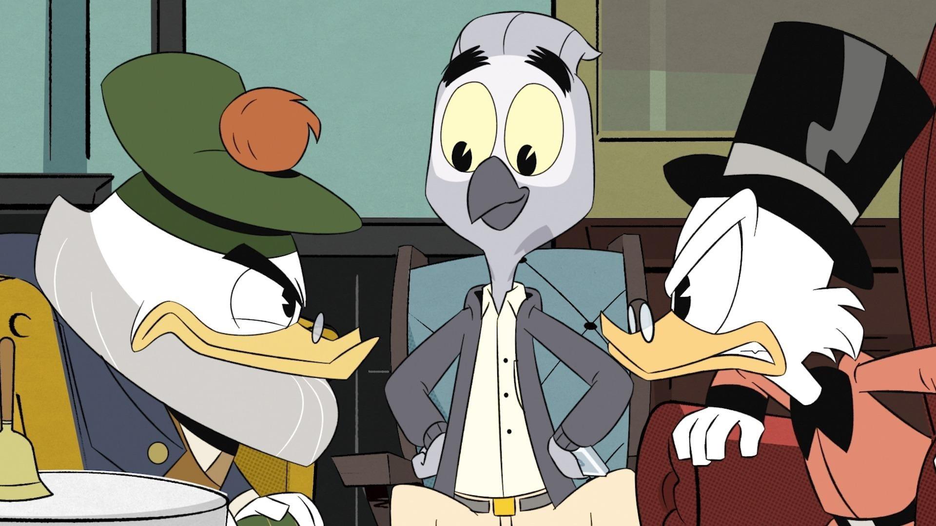DuckTales Season 1 :Episode 7  The Infernal Internship of Mark Beaks!