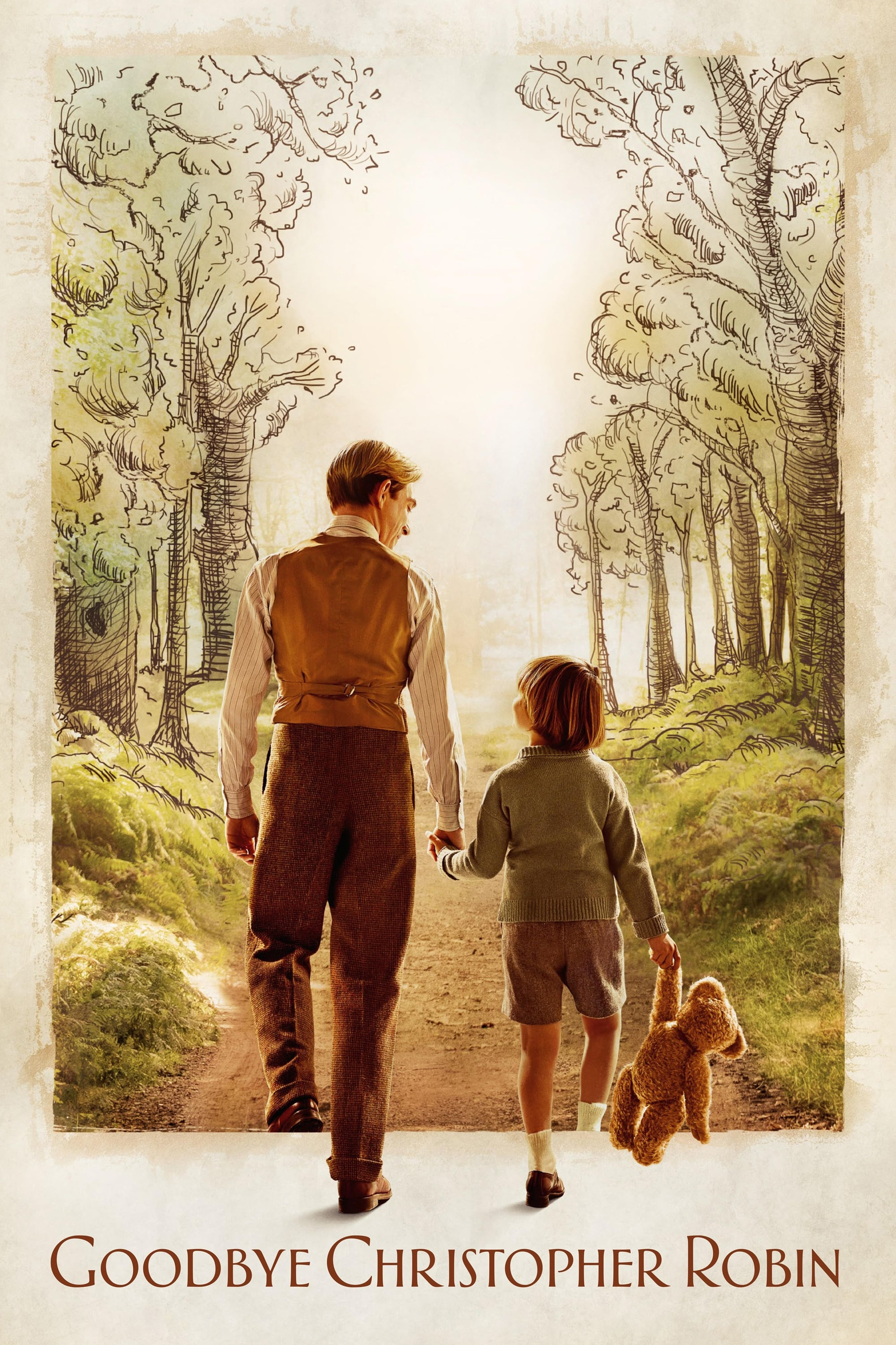 Poster and image movie Film Goodbye Christopher Robin - Goodbye Christopher Robin - Goodbye Christopher Robin -  2017