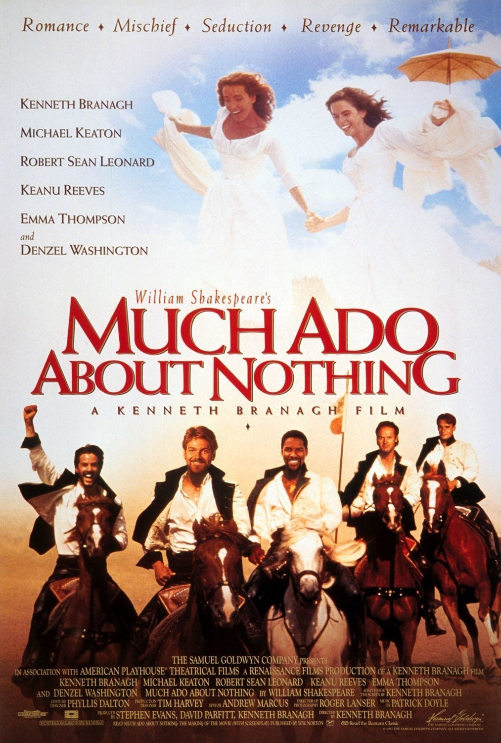 much ado about nothing much Much ado about nothing the heart of america shakespeare festival operates under an agreement between the league of resident theatres and actor's.