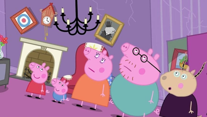 Peppa Pig Season 5 :Episode 48  Madame Gazelle's House
