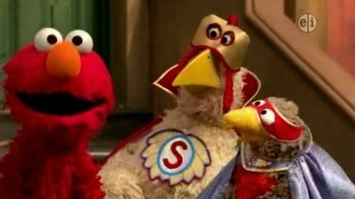 Sesame Street Season 39 :Episode 16  Elmo Steps In for Super Grover