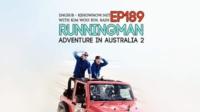 Running Man Season 1 :Episode 189  Adventures in Australia - Part II