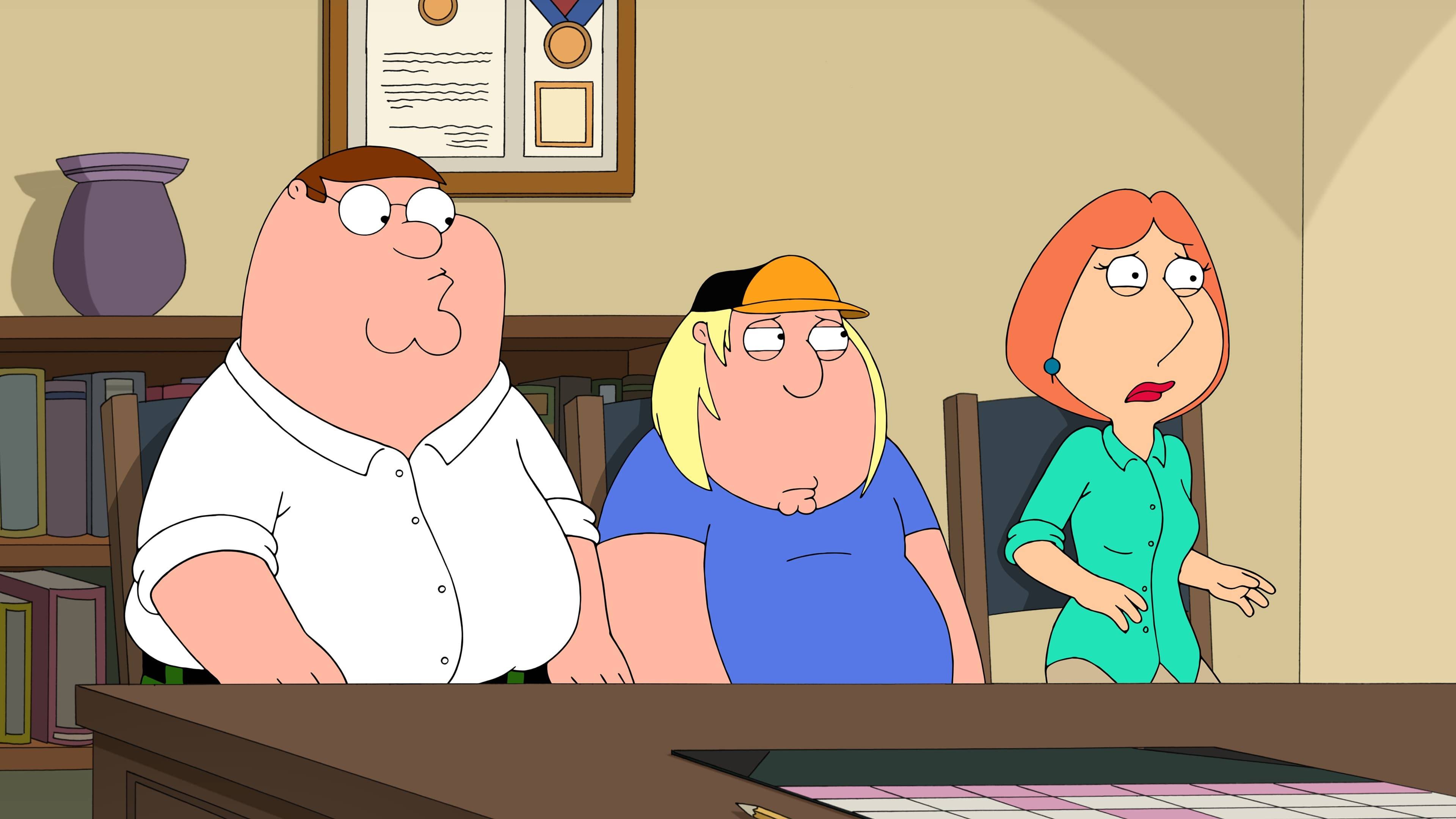 family guy response to episode There was then a preview of the star wars episode of family guy that is  joke,  to which he said that they had a response to that this season.