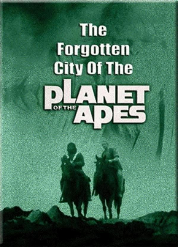 Ver Forgotten City of the Planet of the Apes Online HD Español (1981)